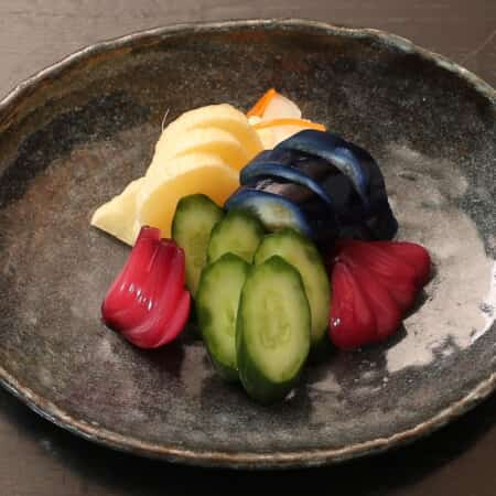 【新潟の老舗 坂井漬物商店のこだわり漬物】  旬の漬物盛り合せ